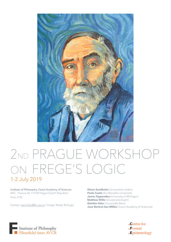 2nd Prague Workshop on Freges Logic poster web